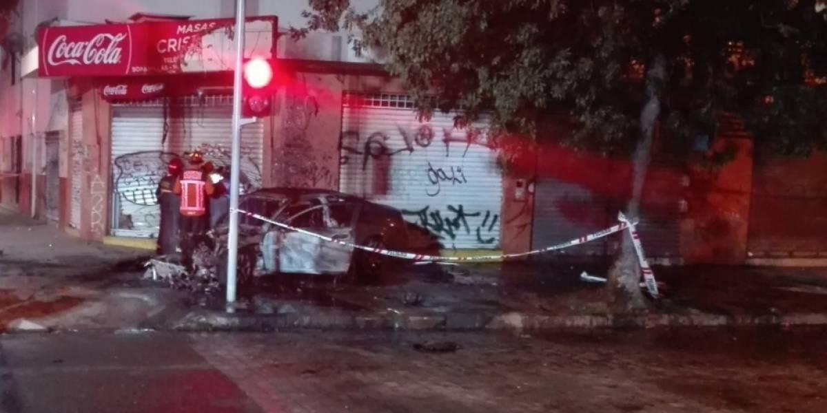 Artefacto incendiario en bus del Transantiago genera operativo del Gope en Santiago