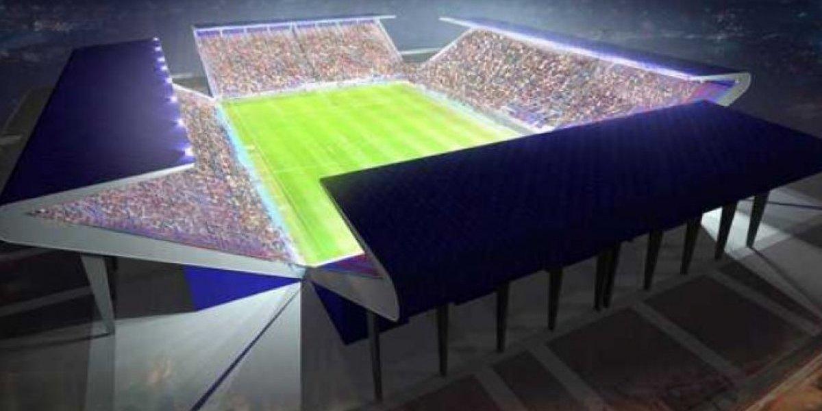"""El """"estadio de la U"""" de Pudahuel se transformará en un mega proyecto impulsado por Bachelet"""