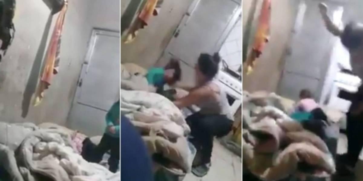 """La madre que golpeó a su hija porque le escondió la tablet justifica su cruel acción y asegura que la pequeña de tres años """"se lo merecía"""""""