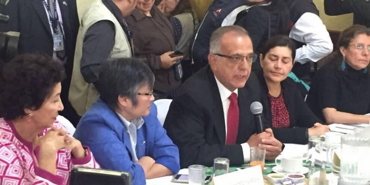 Velásquez resalta que la responsabilidad de la elección de fiscal general está en las universidades