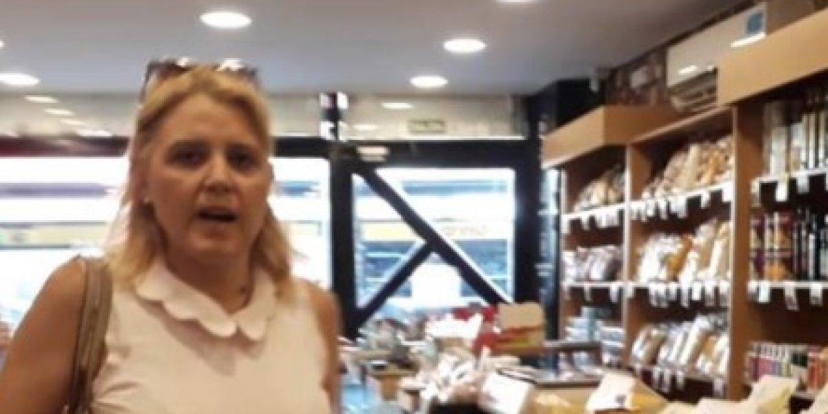 """Mujer fue a comprar a local de comida saludable y la echaron a golpes por """"obesa"""": """"Los gordos no tienen que comer"""""""