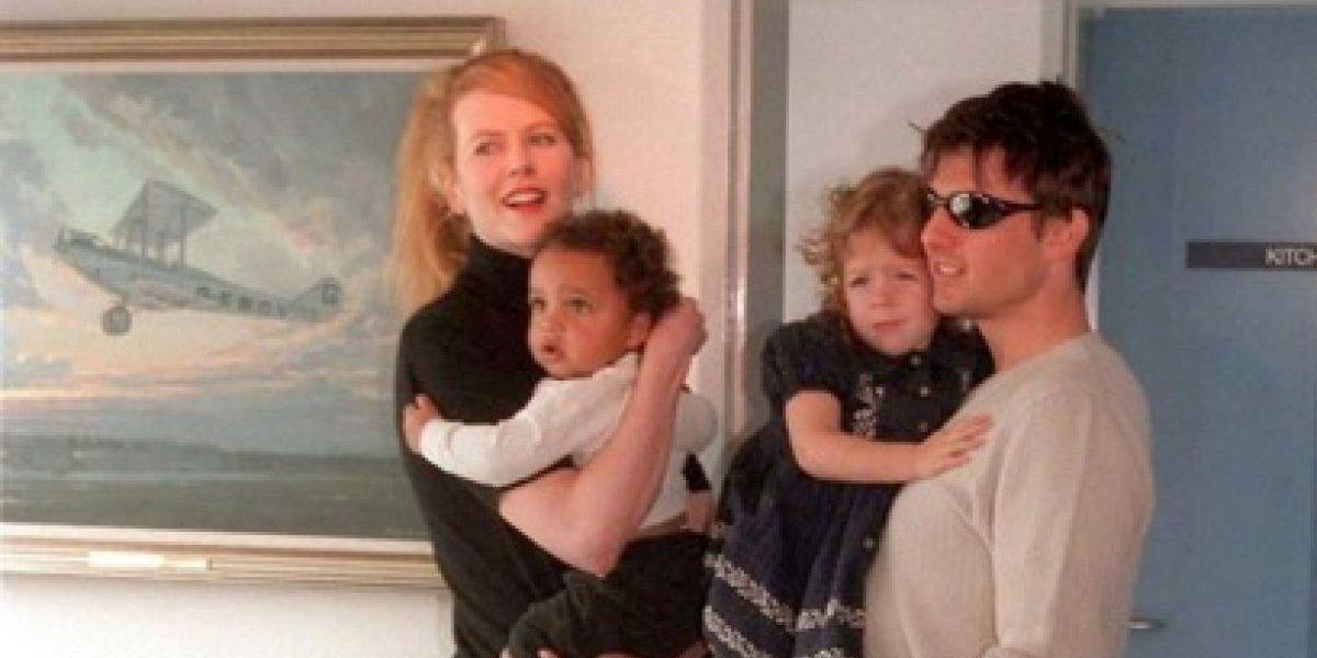 Nicole Kidman no habla de los hijos que adoptó con Tom Cruise por una razón