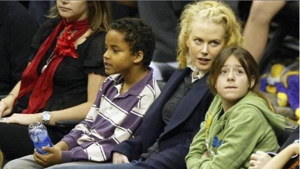 Nicole Kidman, Connor e Isabella