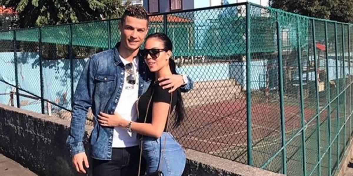 La tierna foto de la hija de Cristiano Ronaldo riendo que enamora en redes