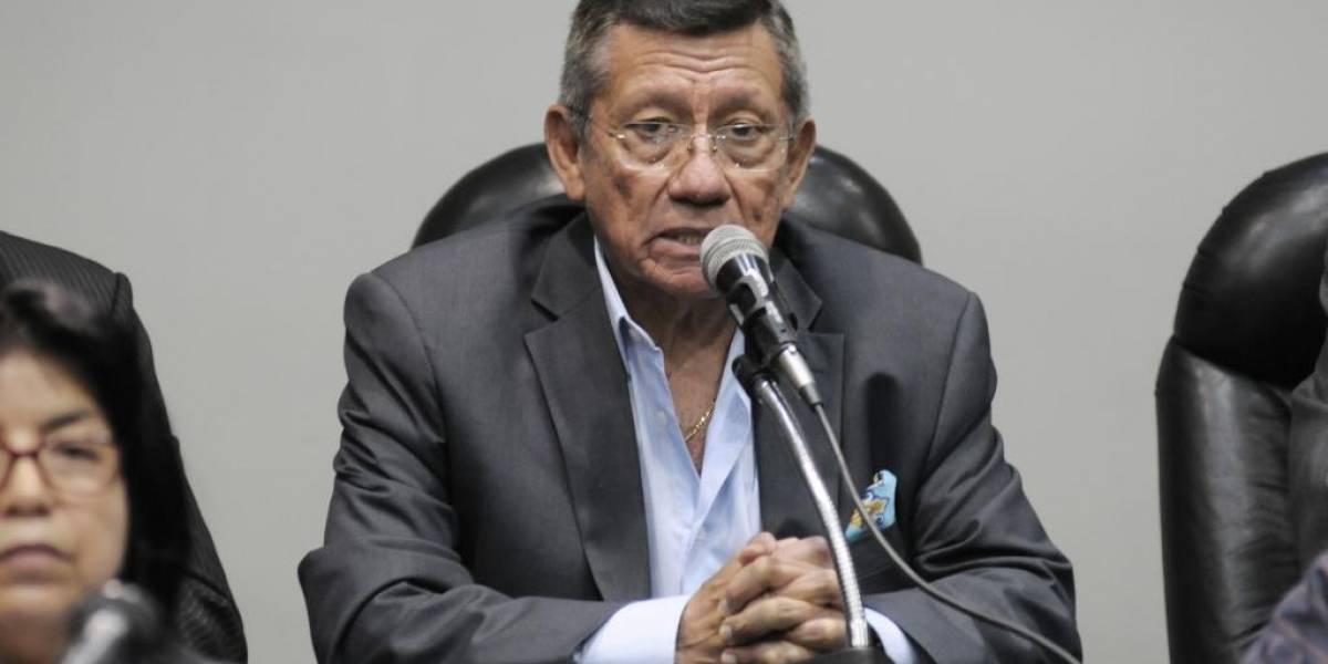 Carlos Villacís, presidente de la FEF, declaró ante Fiscalía