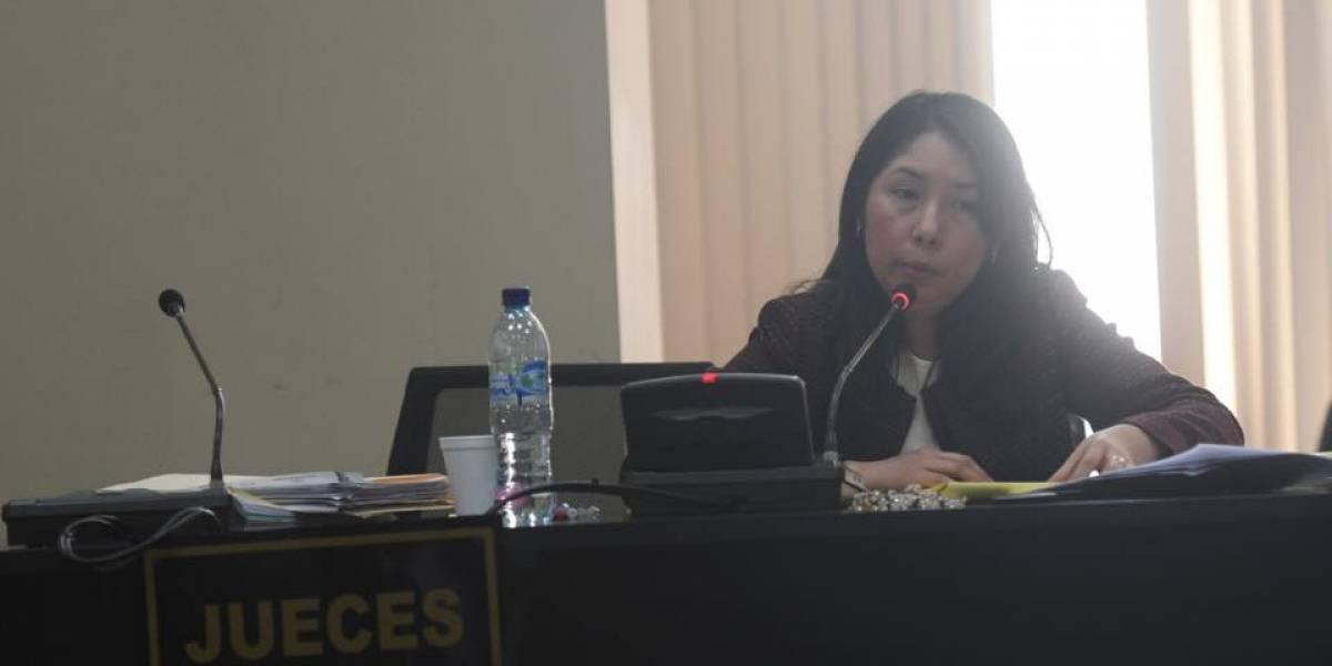 Jueza Aifán seguirá conociendo caso que vincula al partido FCN-Nación