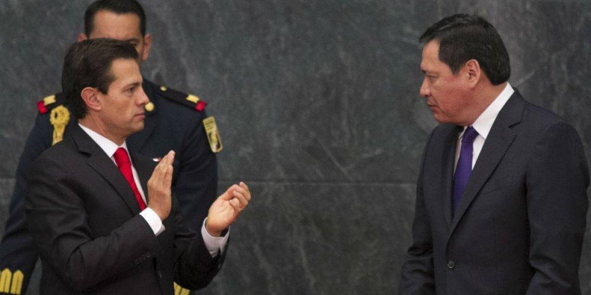 Peña Nieto agradece a Osorio Chong por su trabajo al frente de Segob