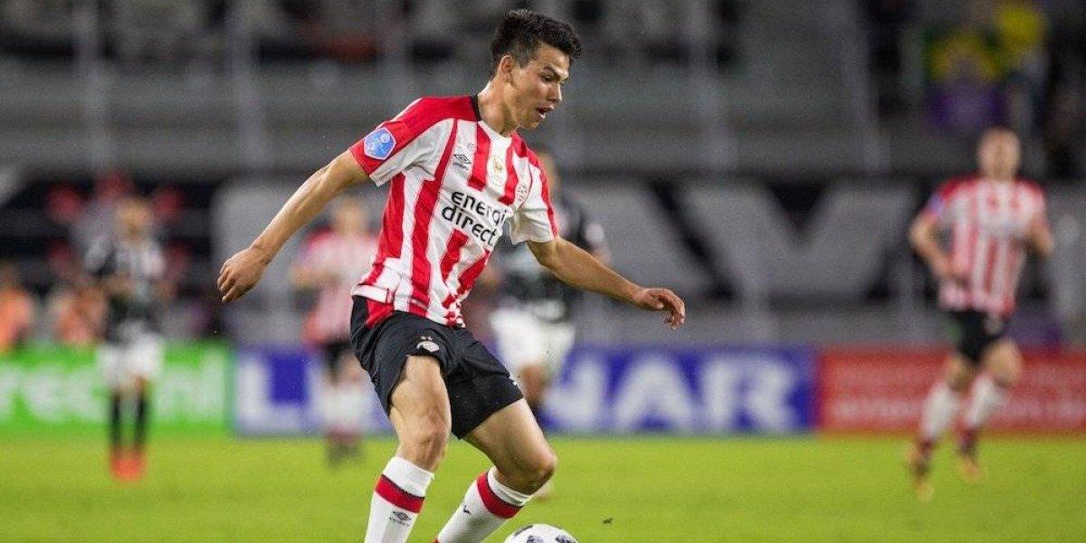 'Chucky' Lozano y PSV caen en penales frente al Corinthians en amistoso