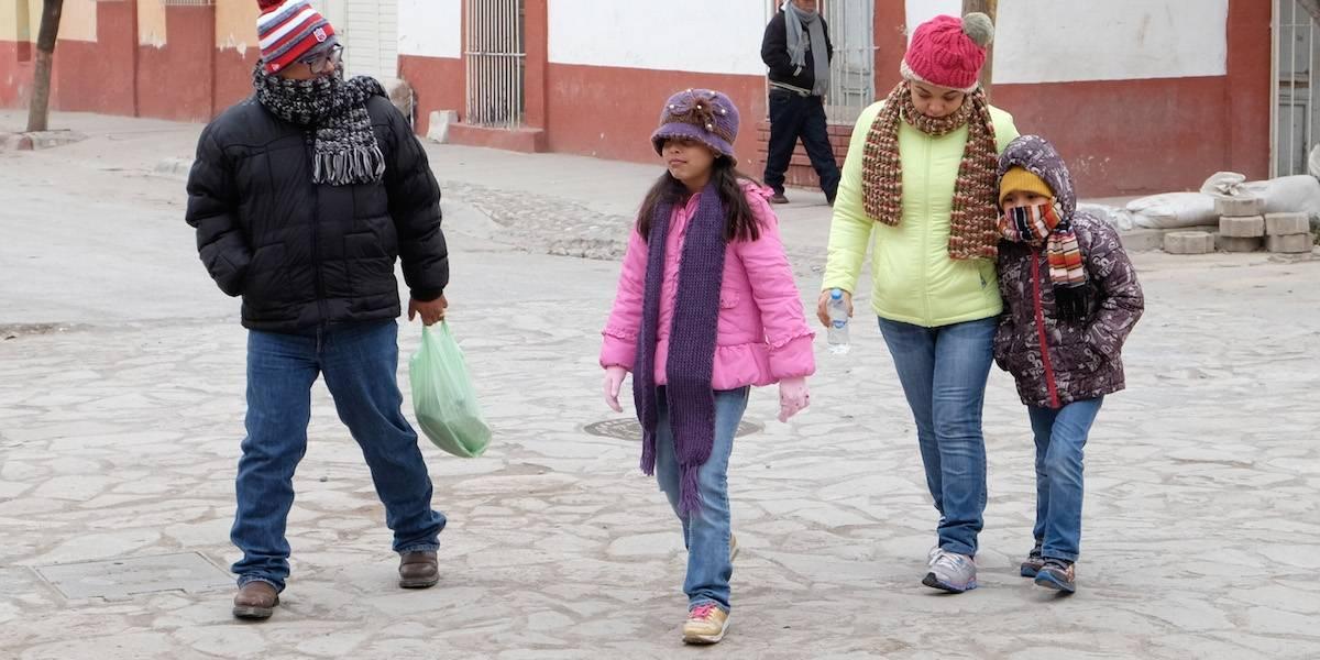 En estos estados de México se llegará a los -5 grados este jueves
