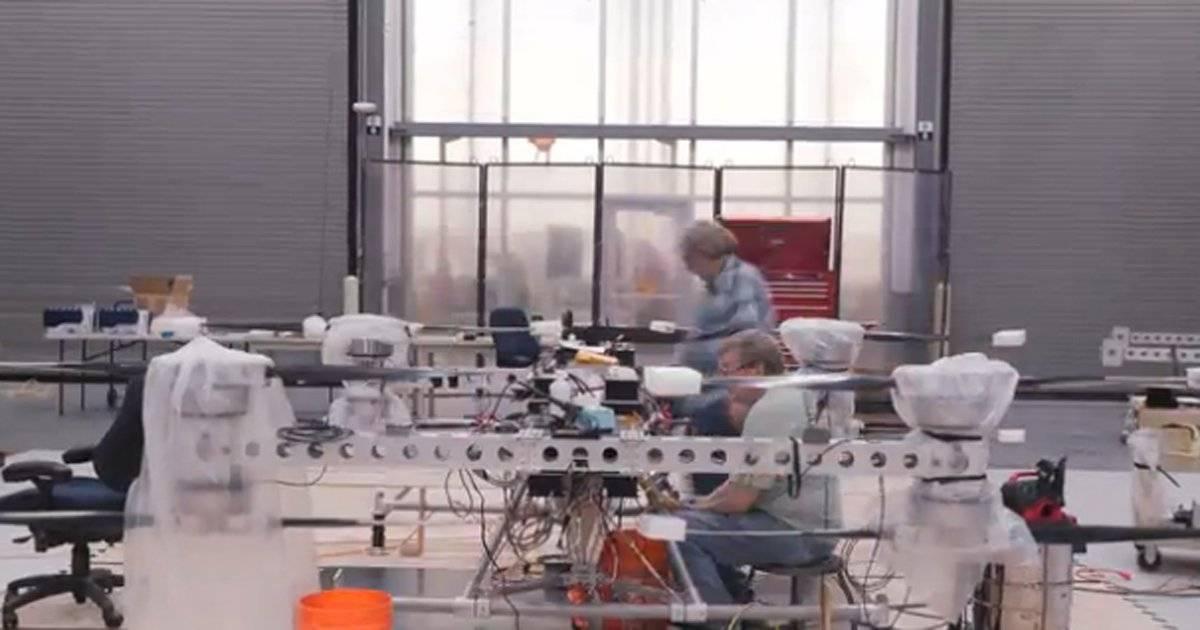 Drone elétrico da Boeing