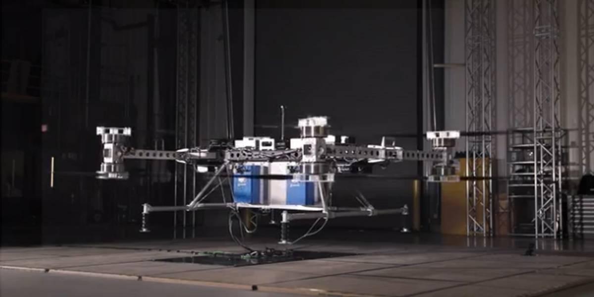 Boeing revela protótipo de drone elétrico não tripulado de carga