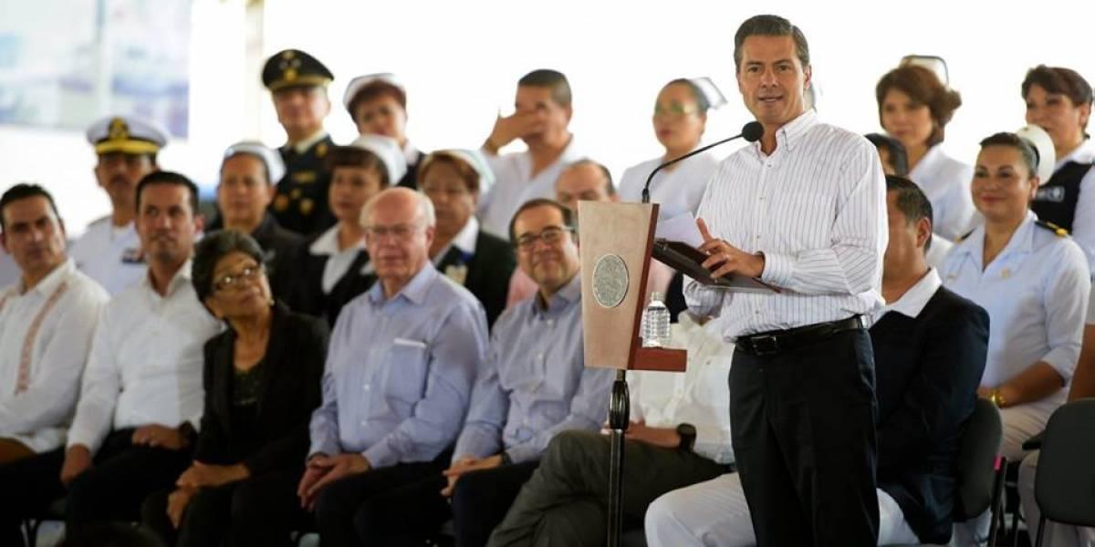 México mantendrá posición firme en renegociación del TLCAN: EPN