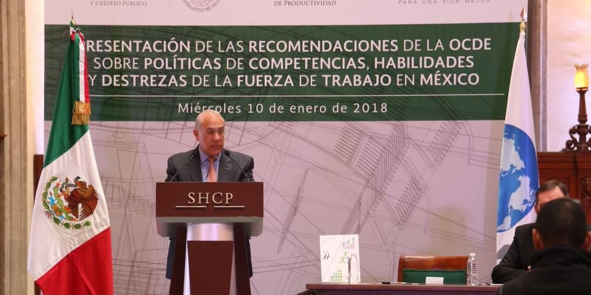 México debe trabajar en mejorar habilidades y destrezas de trabajadores: OCDE