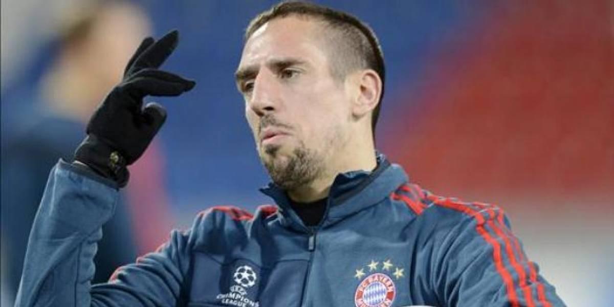 Ribéry: 'Me robaron el Balón de Oro 2013 para darle a Ronaldo'