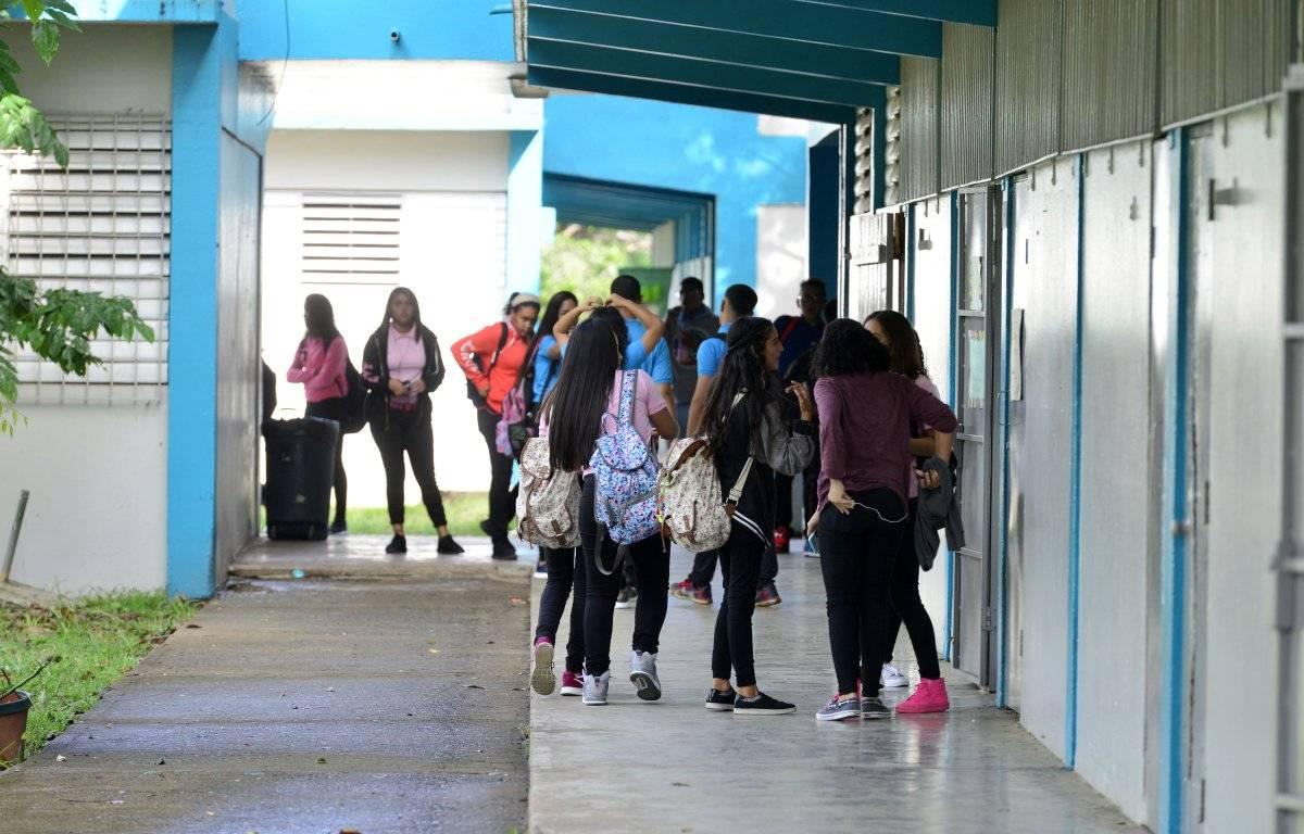 Foto por: Dennis A. Jones/ Metro P. R. /Archivo Foto: Estudiantes de vuelta a clases/Dennis A. Jones/ Metro PR/Archivo