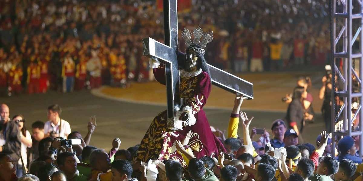 Cientos de heridos dejó la tradicional procesión del Nazareno Negro en Filipinas