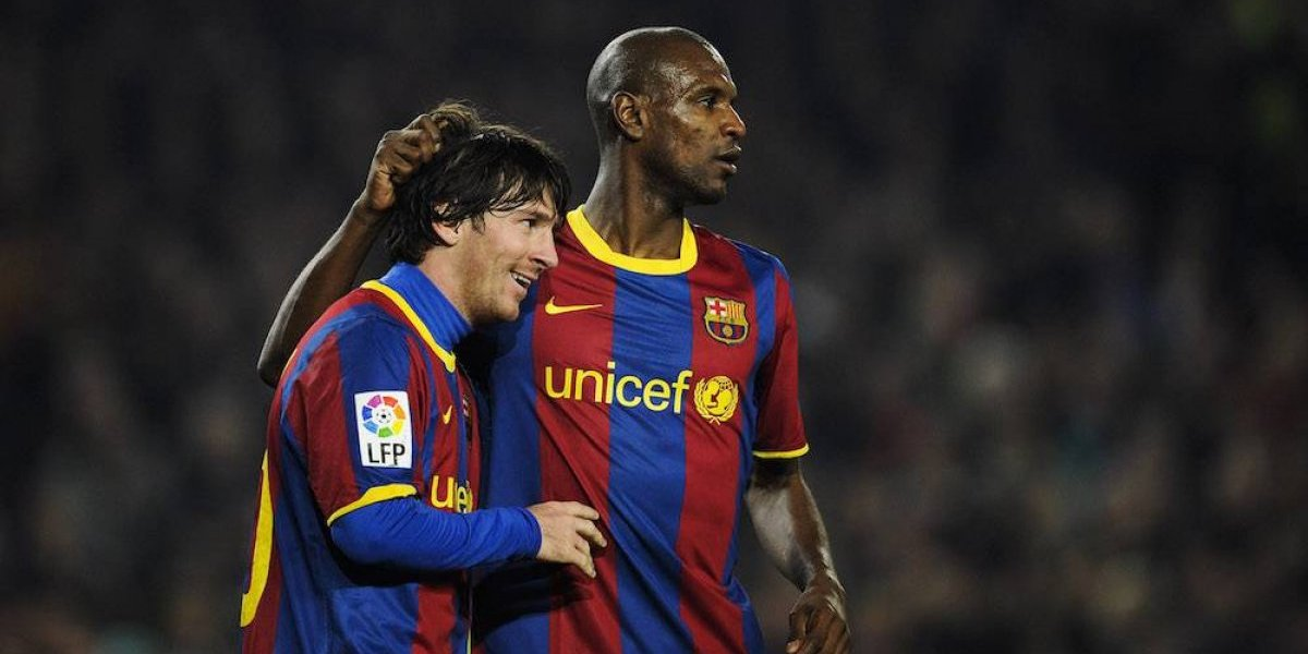 La insólita petición que le hizo Messi a Eric Abidal