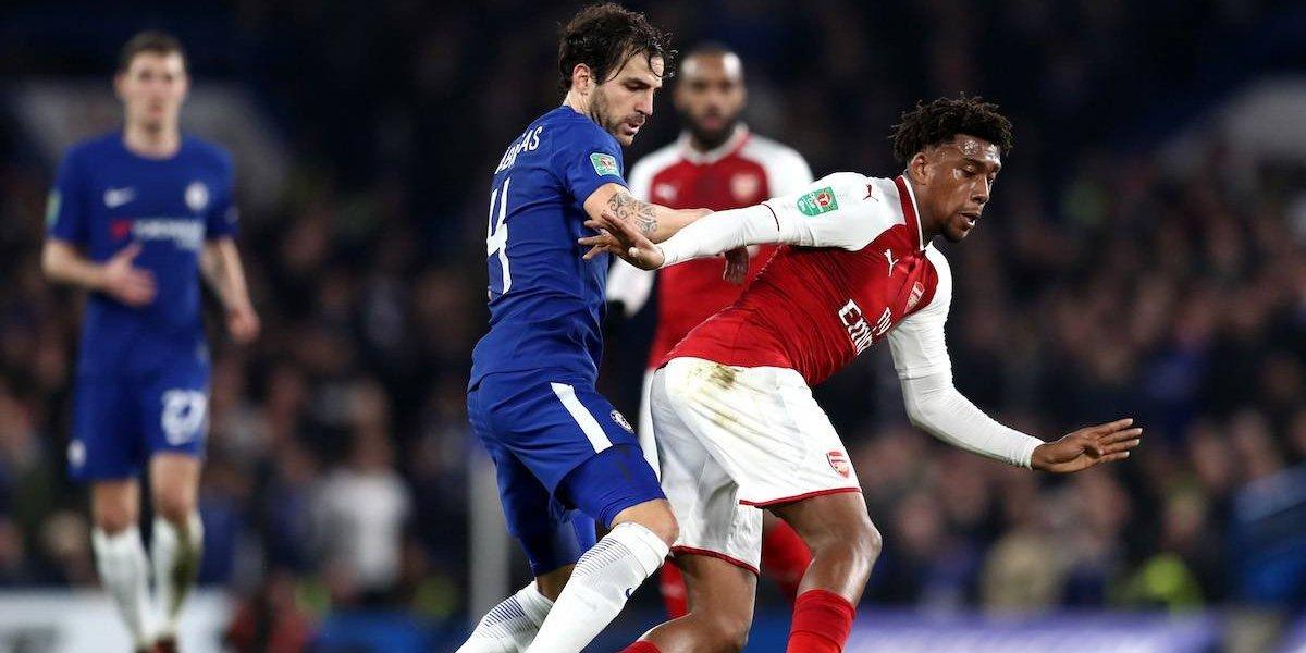 Chelsea y Arsenal empatan a nada y se jugarán el pase a la final en la vuelta