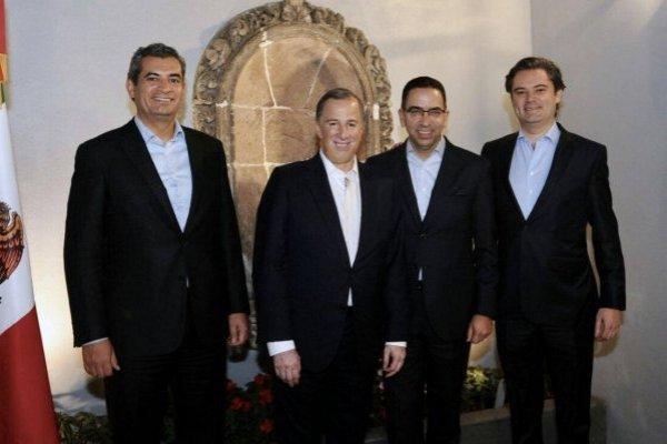 Javier Lozano Alarcón, José Antonio Meade
