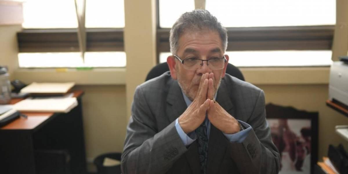Juez Miguel Gálvez rechaza libertad al expresidente Otto Pérez