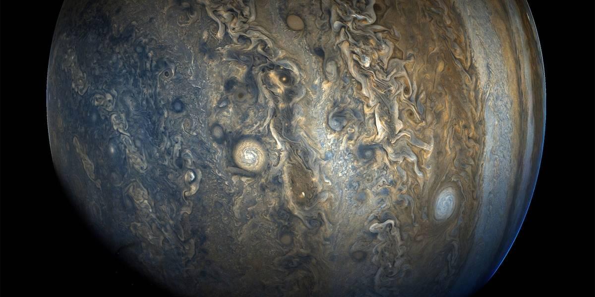 Nasa divulga novas imagens de Júpiter