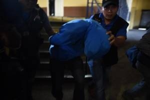 Marco Pappa llega a Juzgado de Femicidio