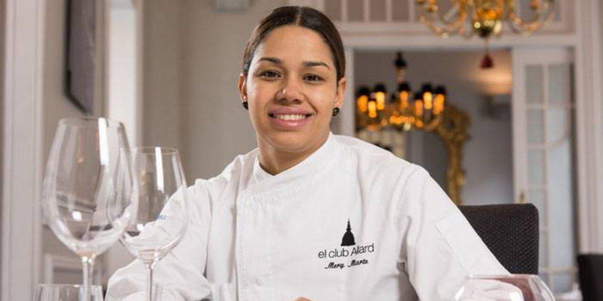 La chef María Marte se dedicará a formar a mujeres sin recursos