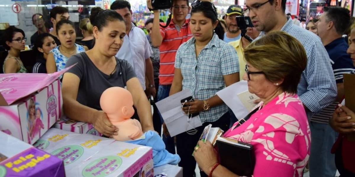 FOTO. Muñecas con pene decomisadas en Paraguay procedían de China