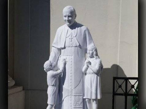 Papa João Paulo II ganha estátua em cidade dos EUA (foto: Reprodução/ Twitter)