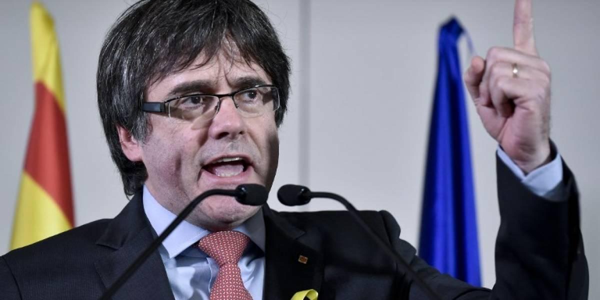 Partidos catalanes intentarán investir a Puigdemont