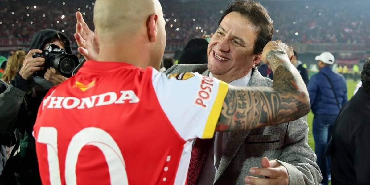 Es oficial: Omar Pérez no seguirá en Independiente Santa Fe