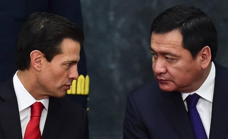 Enrique Peña Nieto y Miguel Ángel Osorio Chong