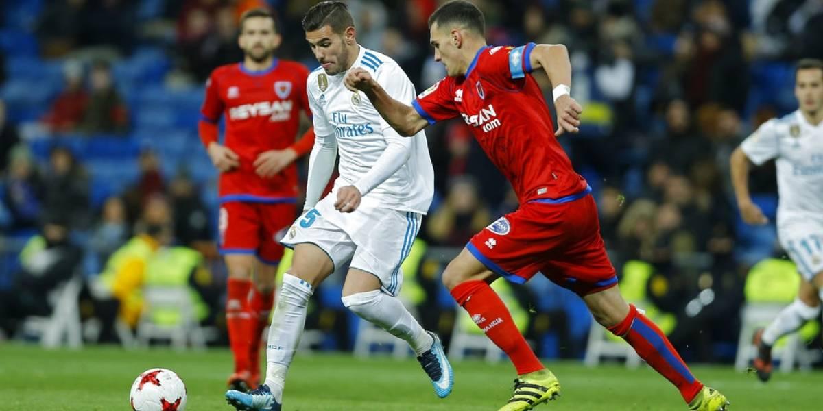 El Madridempataanteel Numanciapero avanzaen la Copa del Rey