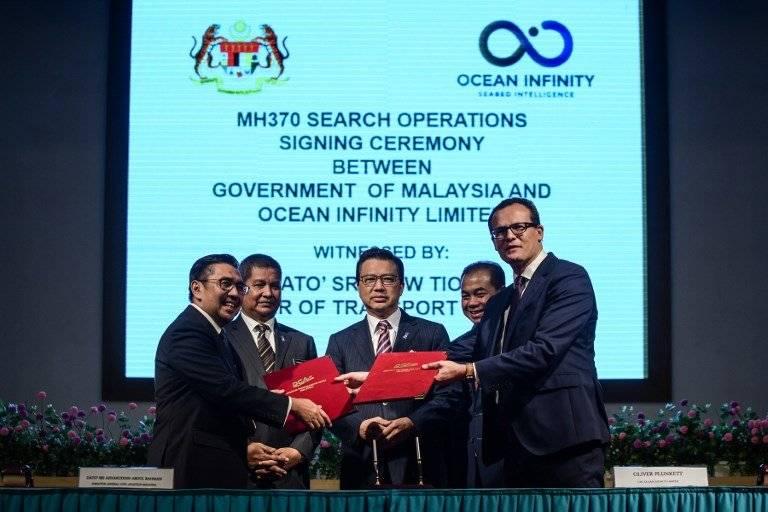 Acuerdo entre Malasia y Ocean Infinity