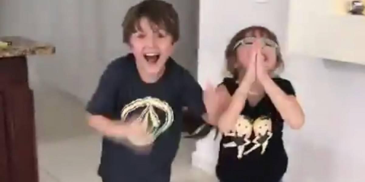 Hijos de Alexandra Fuentes celebran la llegada de la luz