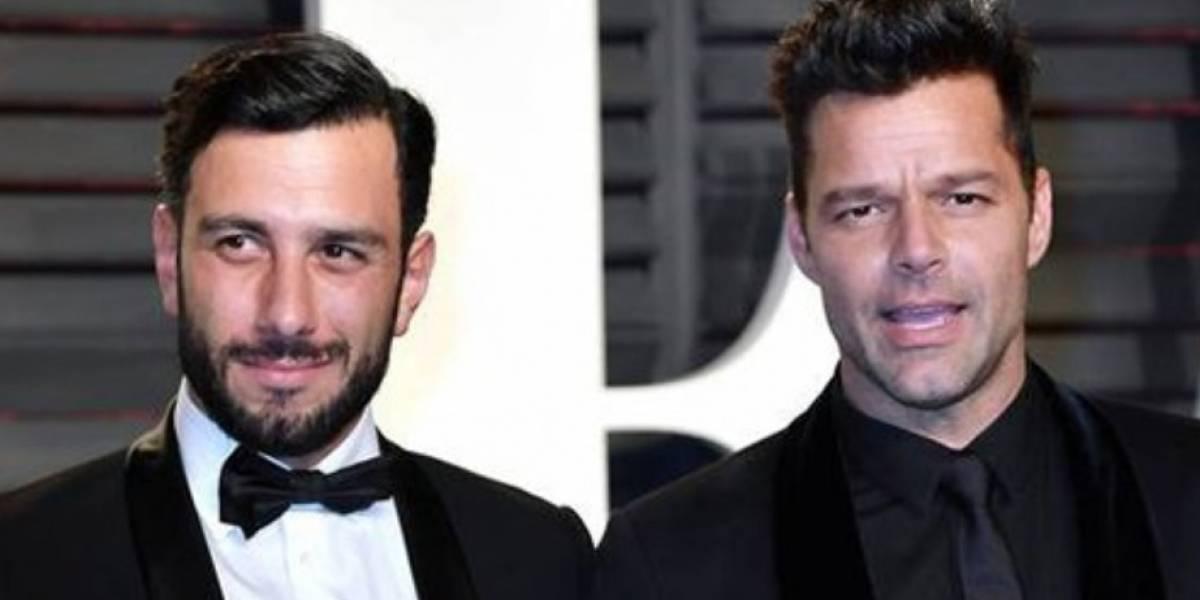 Fuera de la soltería Ricky Martin, ya es un hombre casado