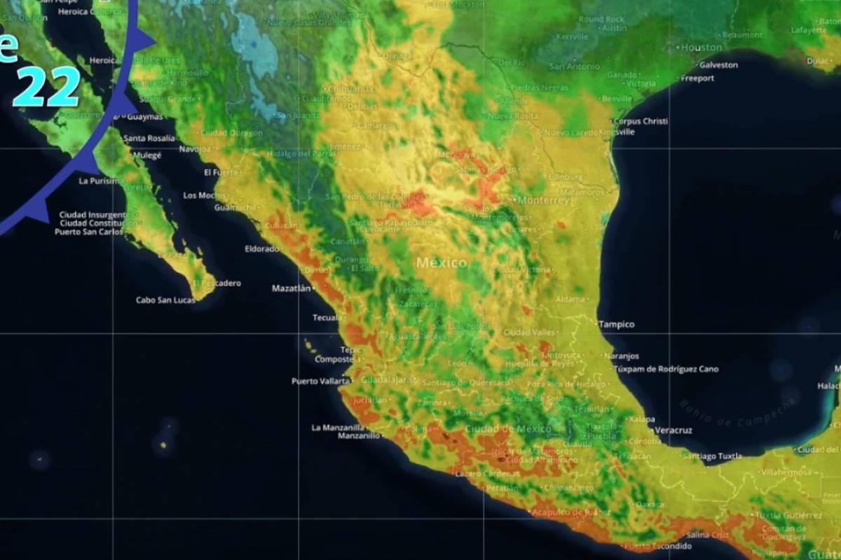 Continuará frío intenso y fuertes vientos en norte y noroeste del país