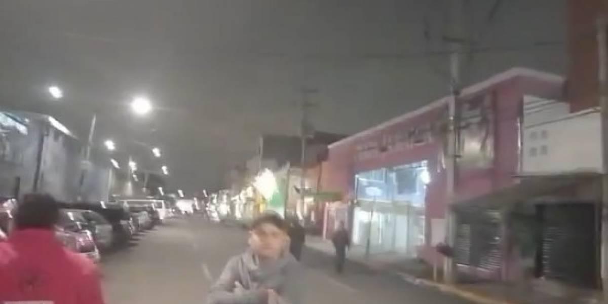 Los videos que muestran cómo se vivió el terremoto 7,6 que sacudió a Honduras