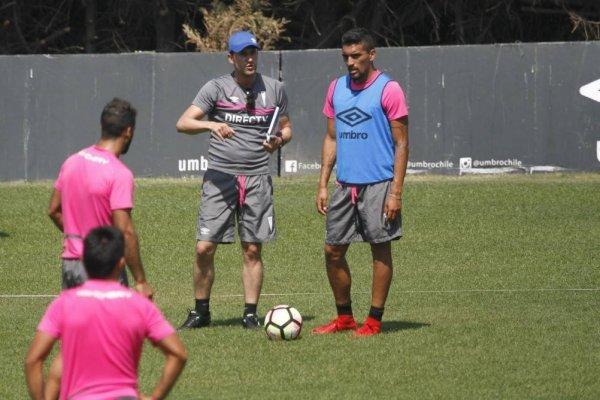 Beñat San José tuvo como pupilo a Branco Ampuero en Antofagasta en la temporada 2015-2016. Fue titular absoluto / Foto: Camila Martínez
