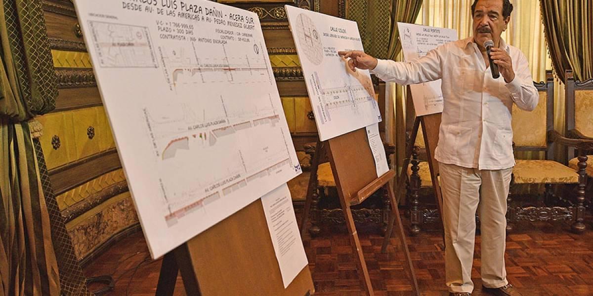 Nebot firmó los primeros contratos de regeneración urbana del año 2018