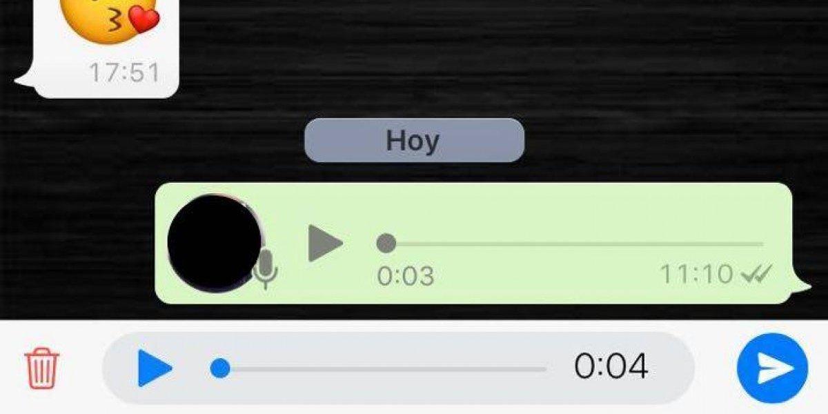 Ya podrás escuchar tus audios en WhatsApp antes de enviarlos