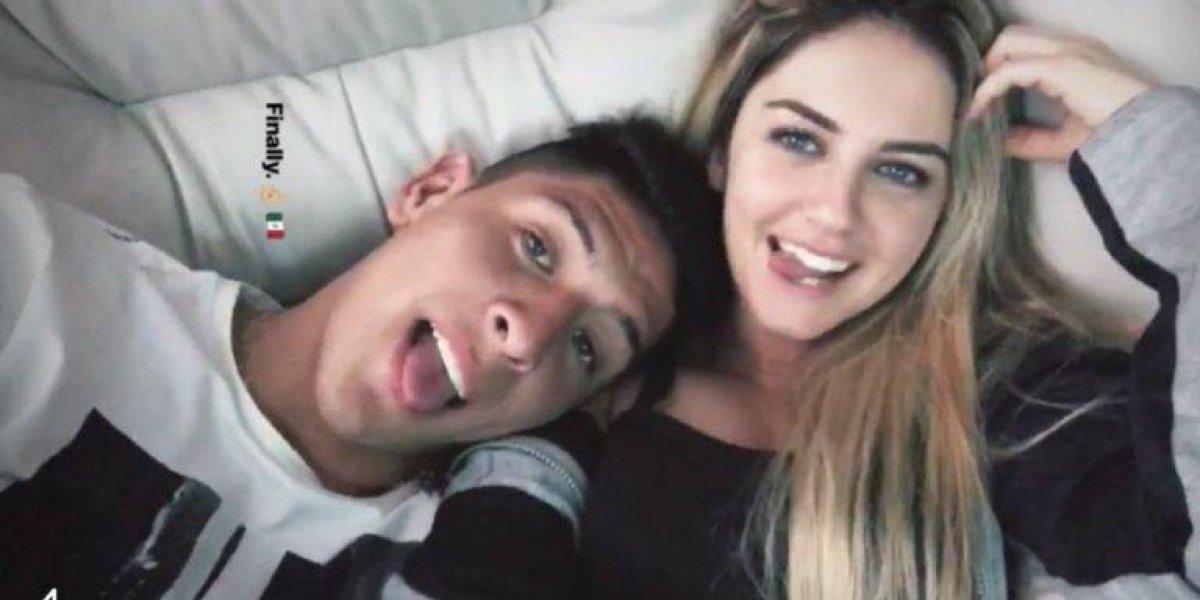 Edson Álvarez 'enchiló' a su novia belga