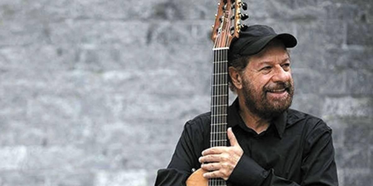 João Bosco faz série de shows de graça no Centro
