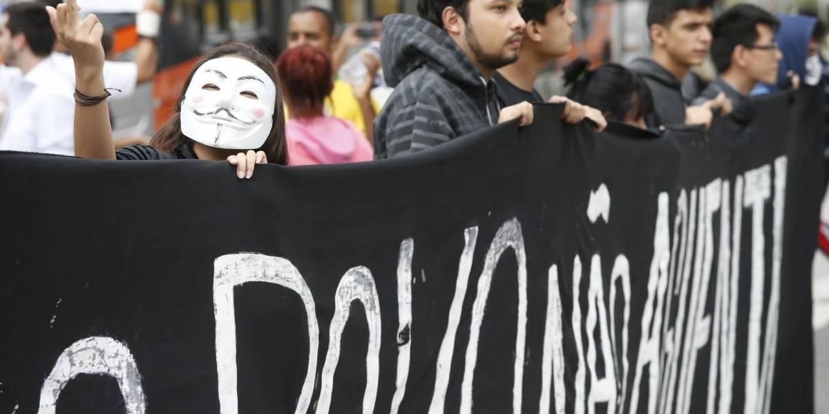 MPL faz 1º protesto contra tarifa de R$ 4 no transporte de SP