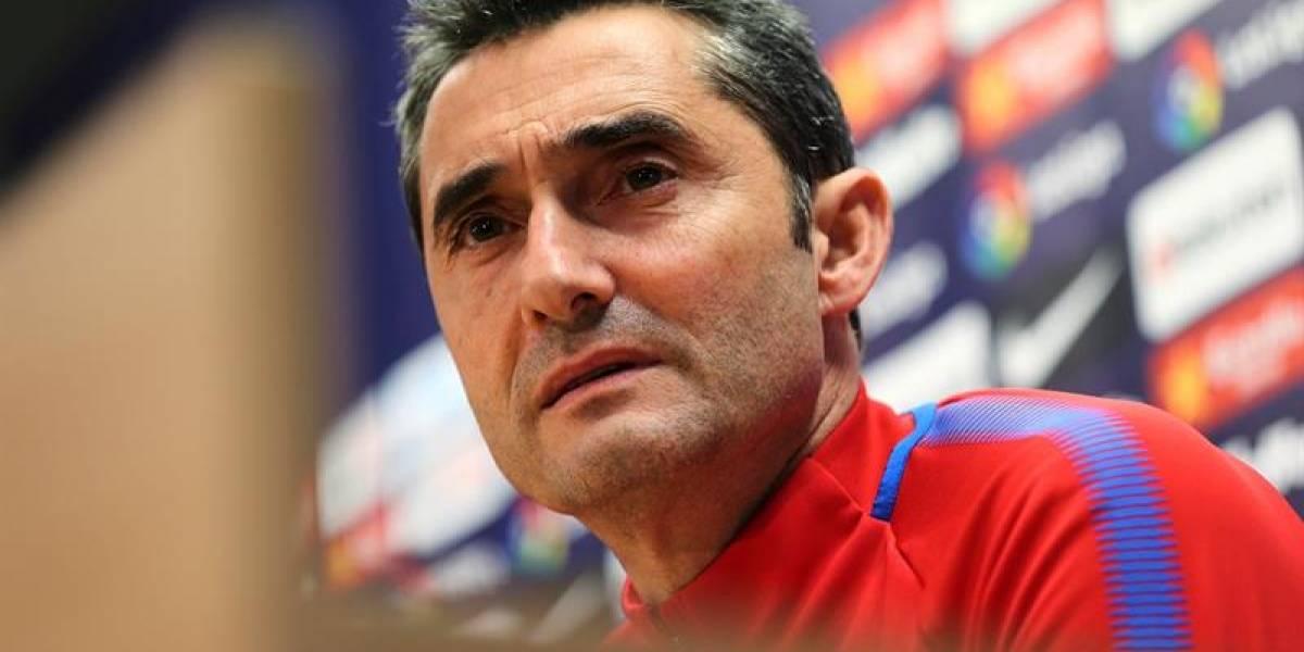 "Ya empezaron a insultar al técnico del Barcelona: ""Meta a Mina, canoso..."""