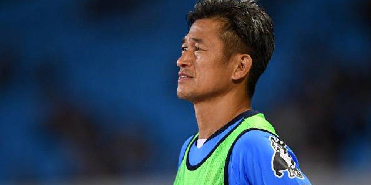 En Japón renuevan contrato de jugador de 50 años de edad