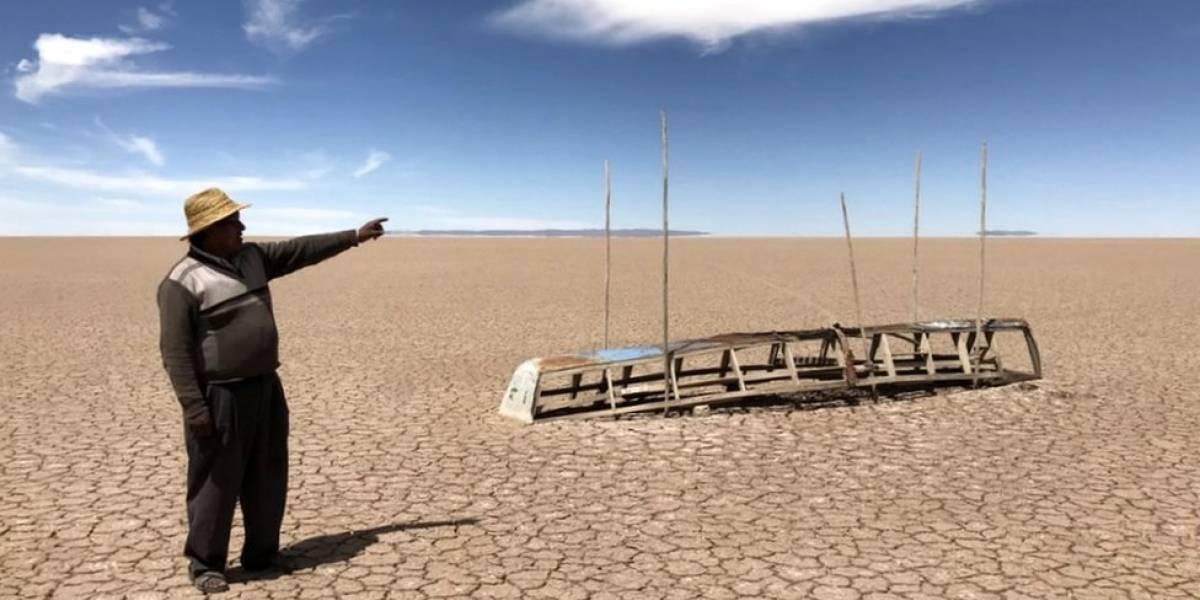Especial BBC Mundo: la paradoja del Poopó, el lago de Bolivia que aparece y desaparece