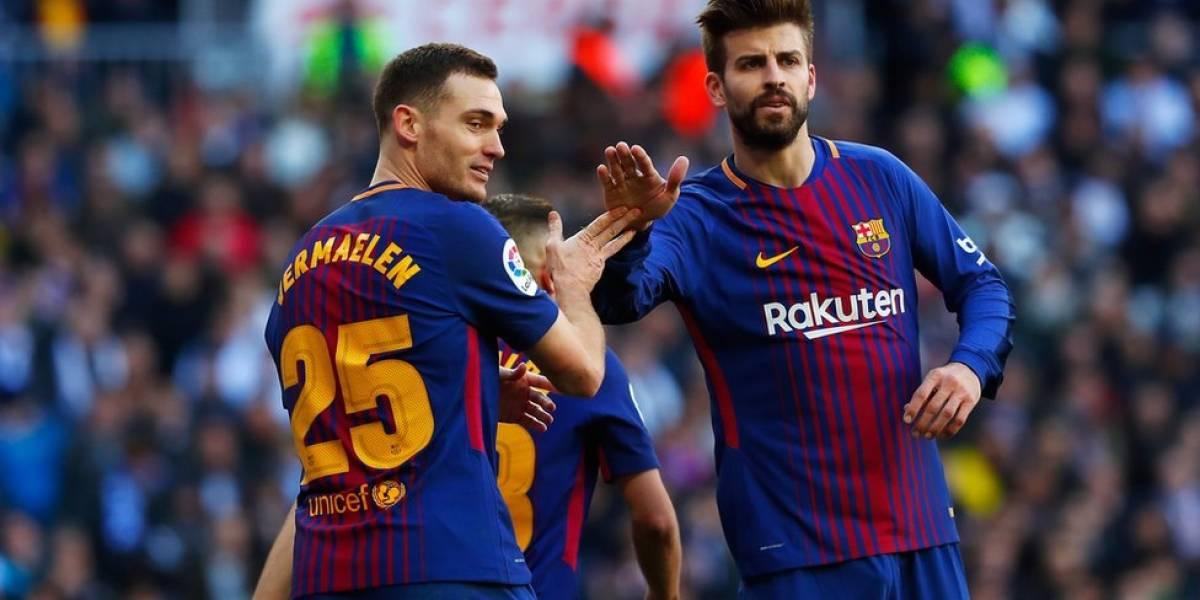 Barsa trata de superar controversia de Piqué en Copa del Rey