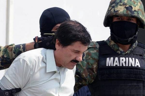 Captura del Chapo Guzmán.