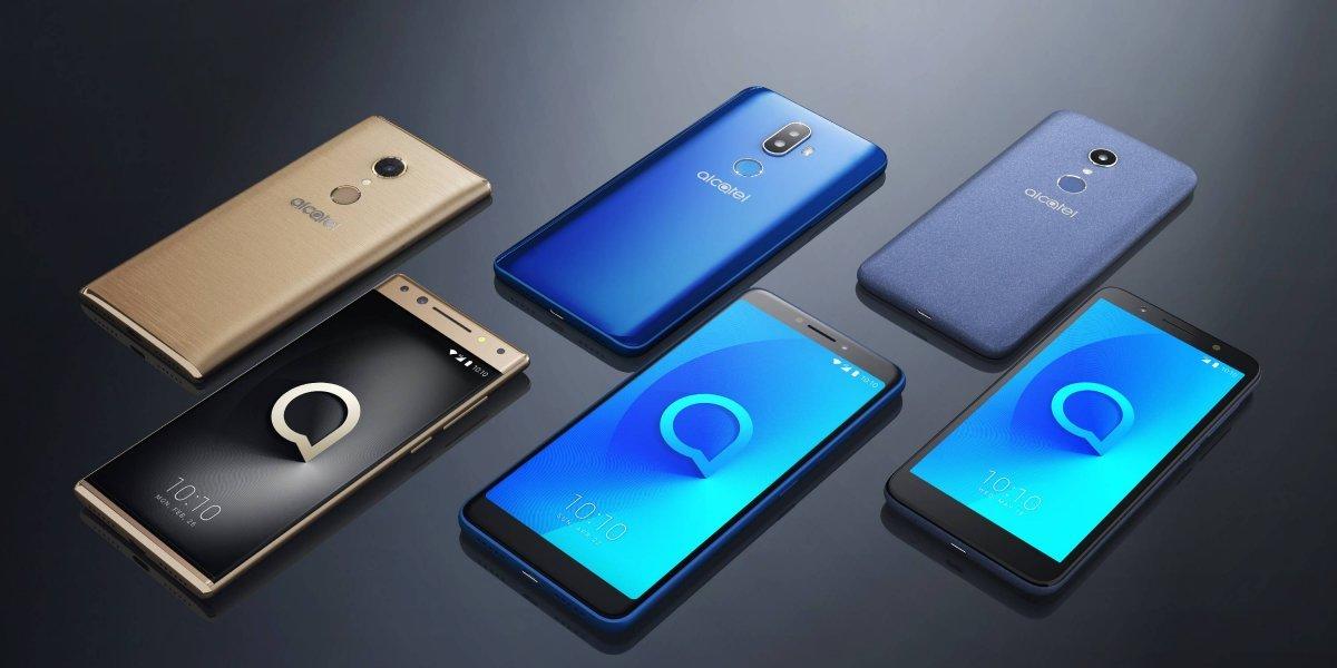 Alcatel con renovada línea de Smartphones en el CES 2018